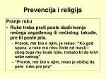 prevencija i religija