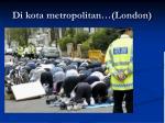 di kota metropolitan london