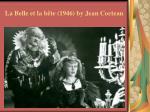 la belle et la b te 1946 by jean cocteau