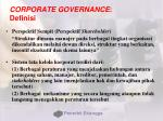 corporate governance definisi165