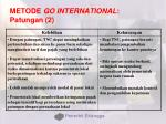 metode go international patungan 2
