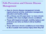 falls prevention and chronic disease management