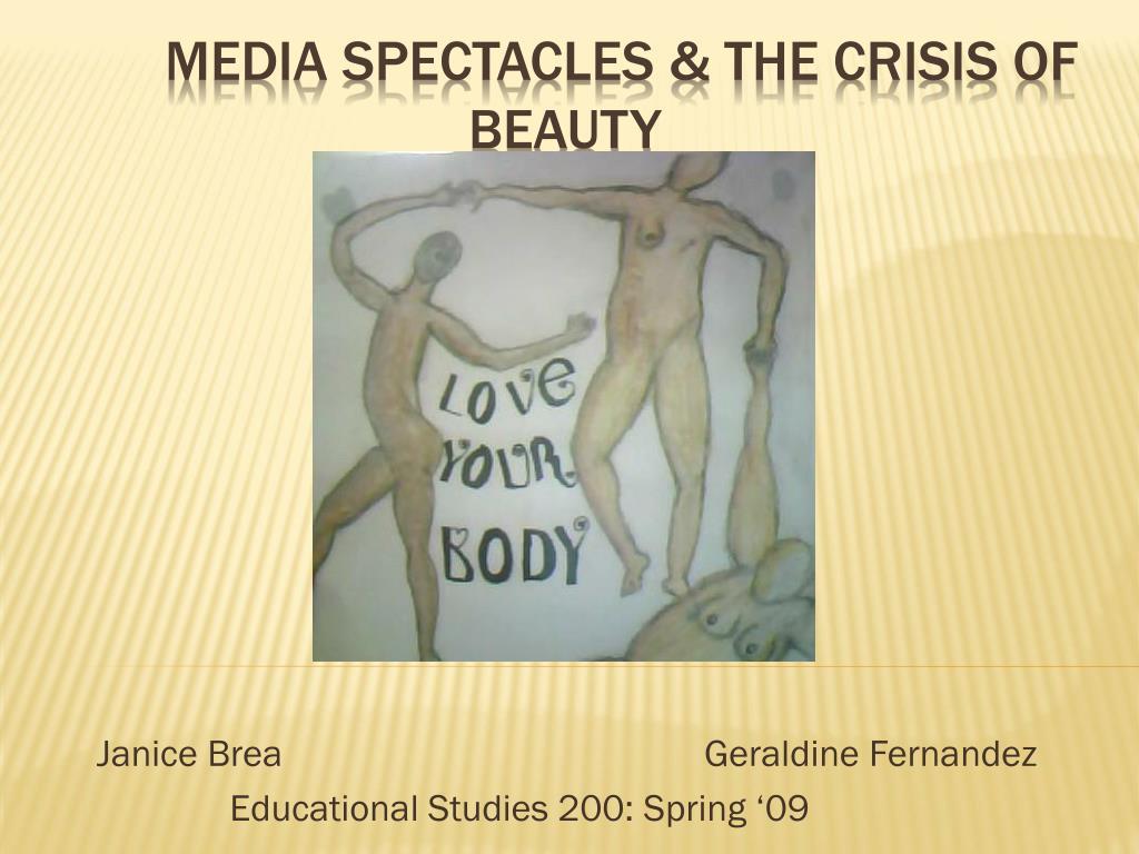 janice brea geraldine fernandez educational studies 200 spring 09 l.