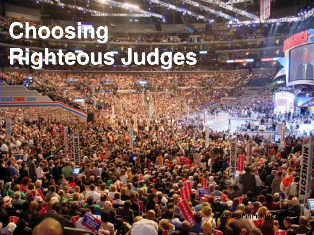 choosing righteous judges l.