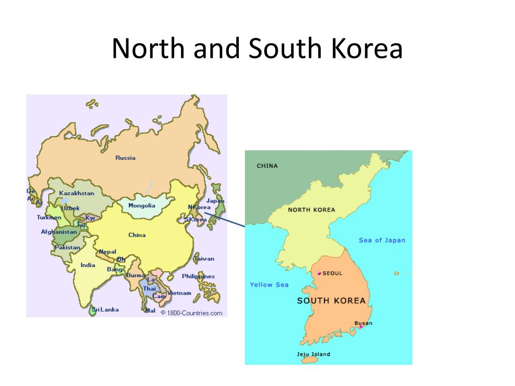 north and south korea l.