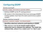 configuring eigrp4