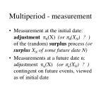 multiperiod measurement