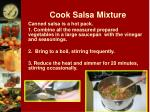cook salsa mixture