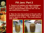 fill jars part 2
