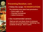 preventing botulism cont11