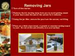 removing jars