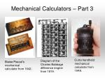 mechanical calculators part 3