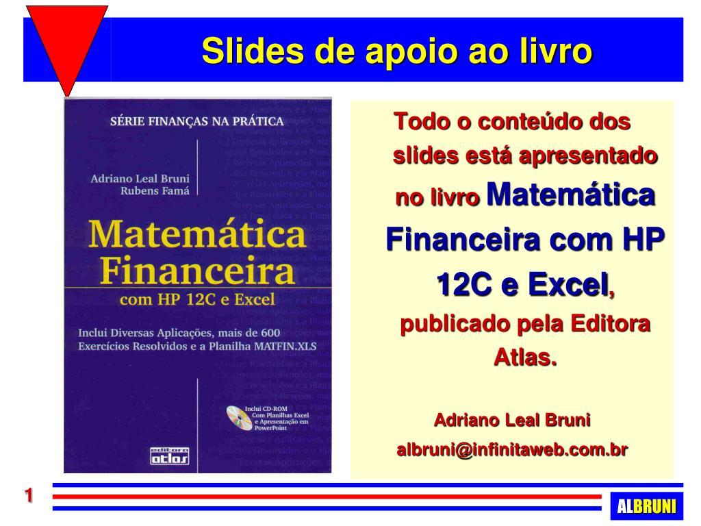 slides de apoio ao livro l.