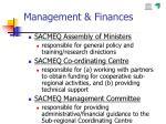 management finances