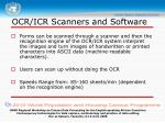 ocr icr scanners and software