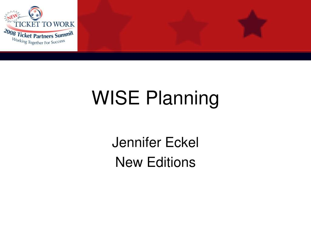 WISE Planning