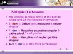 7 30 quiz 1 answers