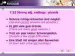 7 53 strong adj endings plurals