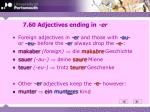 7 60 adjectives ending in er