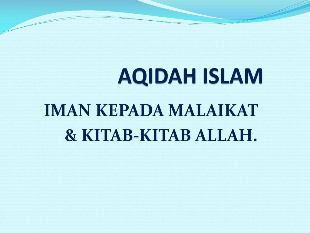 aqidah islam l.