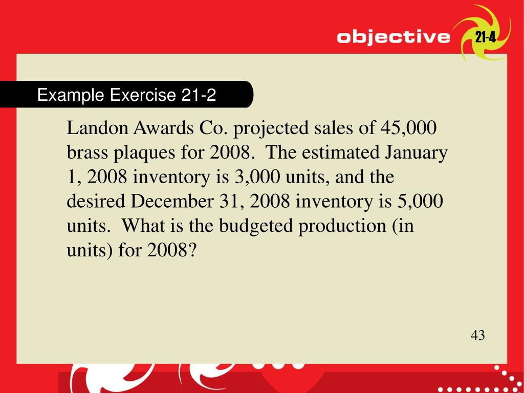 Example Exercise 21-2