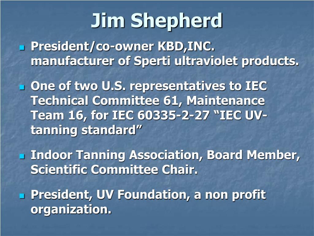 jim shepherd l.