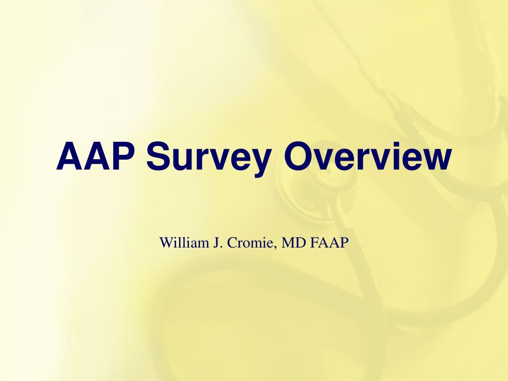 aap survey overview l.