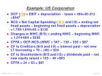 example us corporation