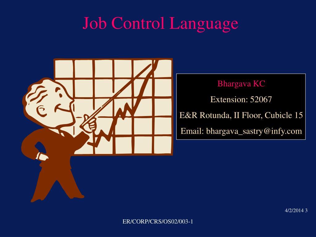 job control language l.