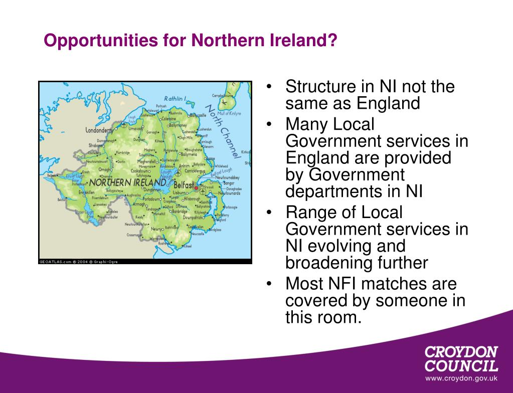 Opportunities for Northern Ireland?