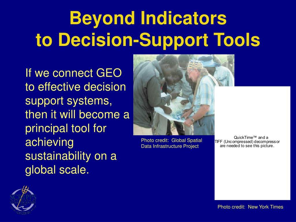 Beyond Indicators