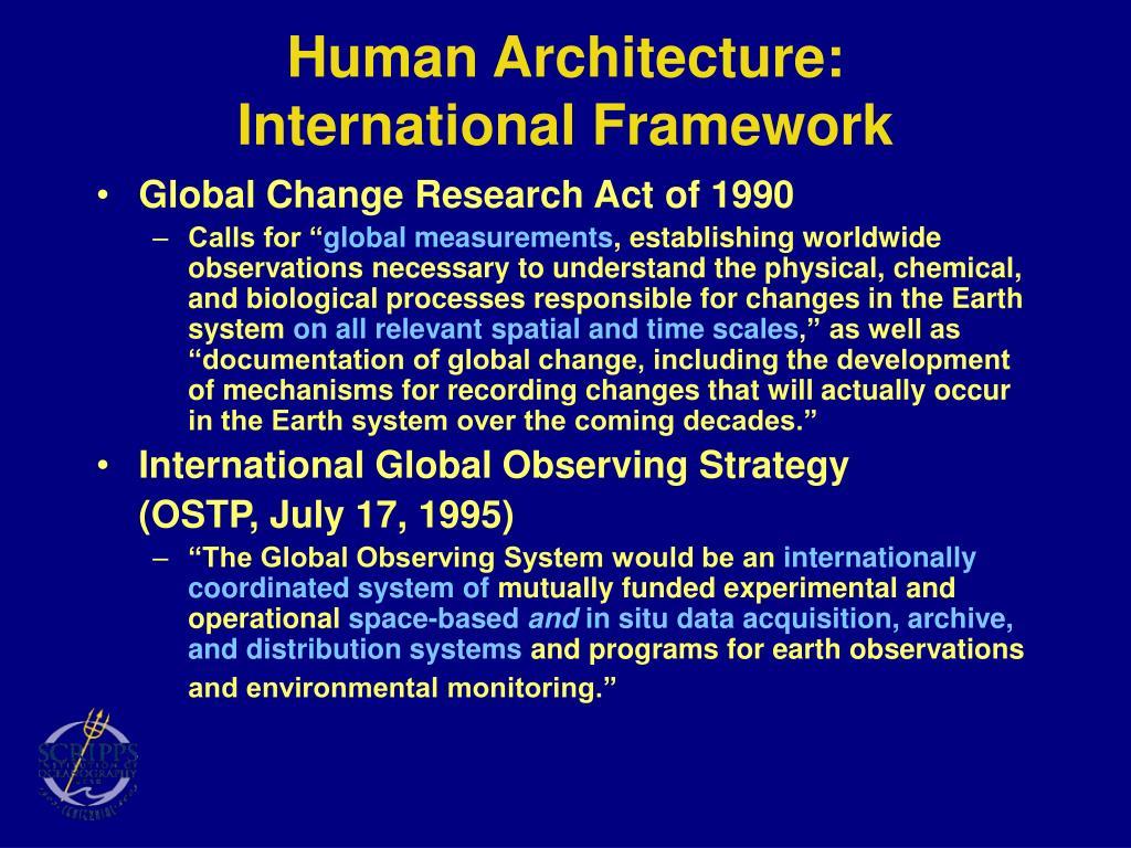 Human Architecture: