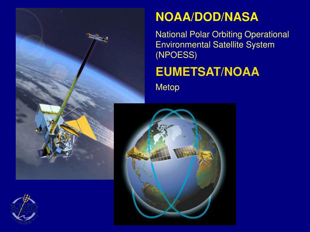NOAA/DOD/NASA
