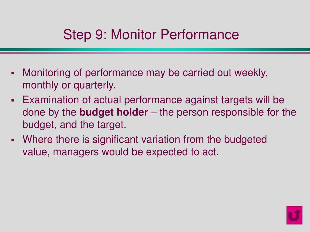 Step 9: Monitor Performance