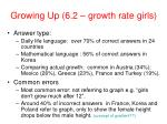 growing up 6 2 growth rate girls29