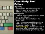 case study text editors16