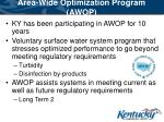 area wide optimization program awop