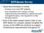 epa needs survey36
