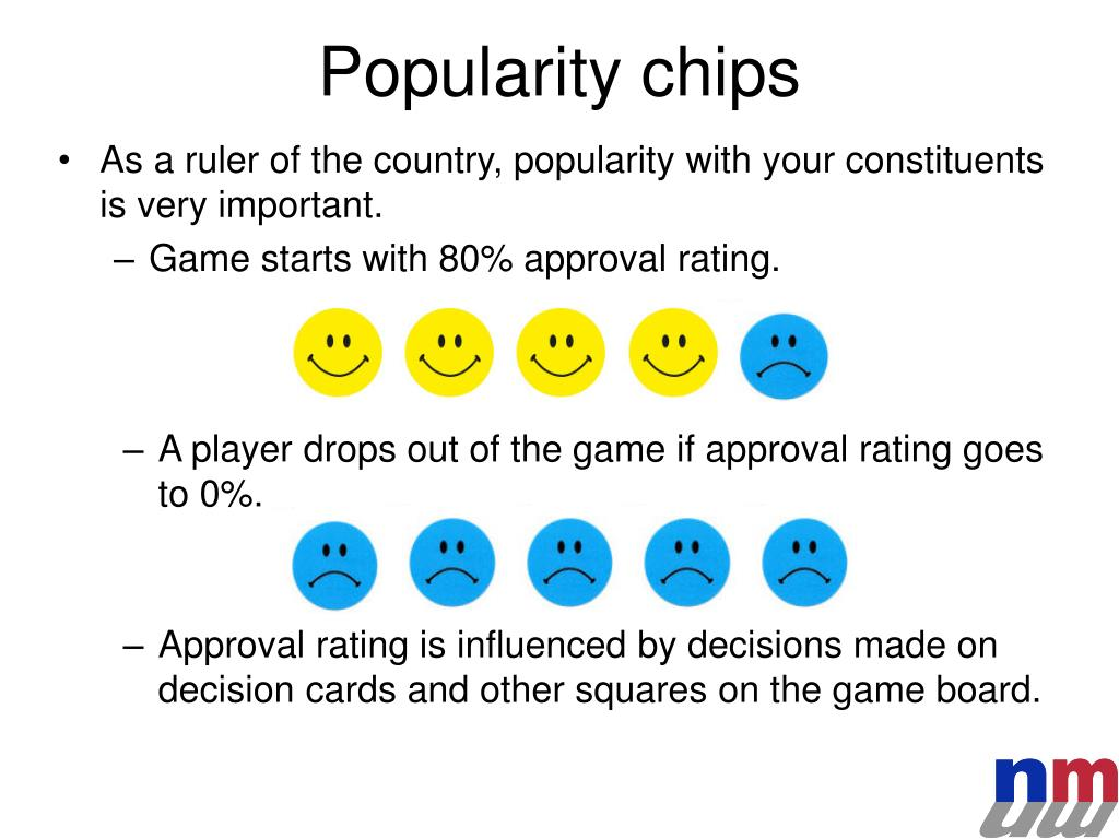 Popularity chips