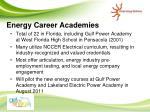 energy career academies