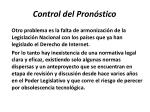 control del pron stico17