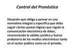 control del pron stico18