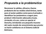 propuesta a la problem tica45