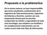 propuesta a la problem tica46
