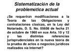 sistematizaci n de la problem tica actual26