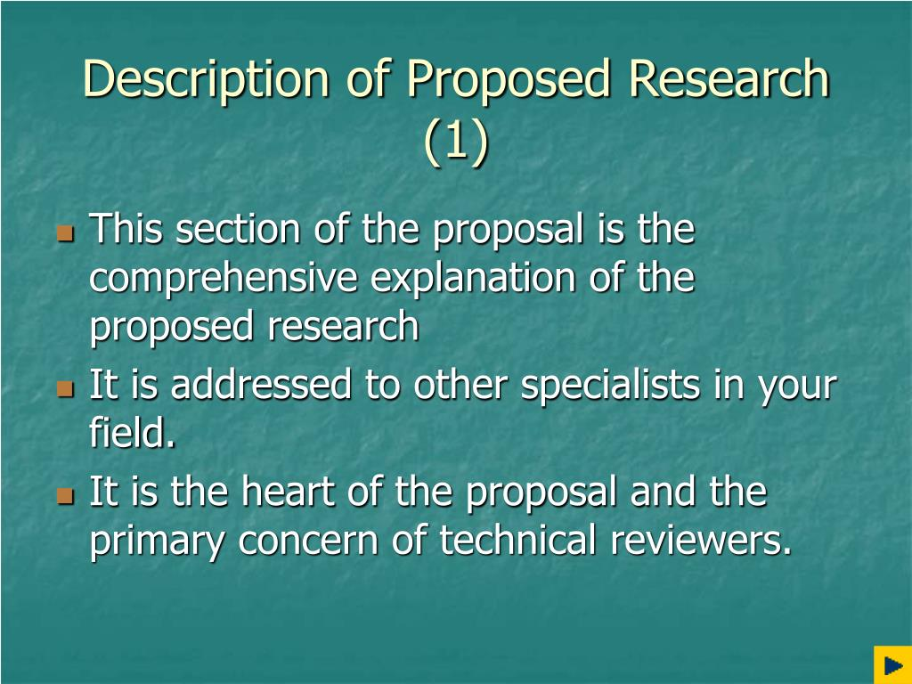 Description of Proposed Research (1)