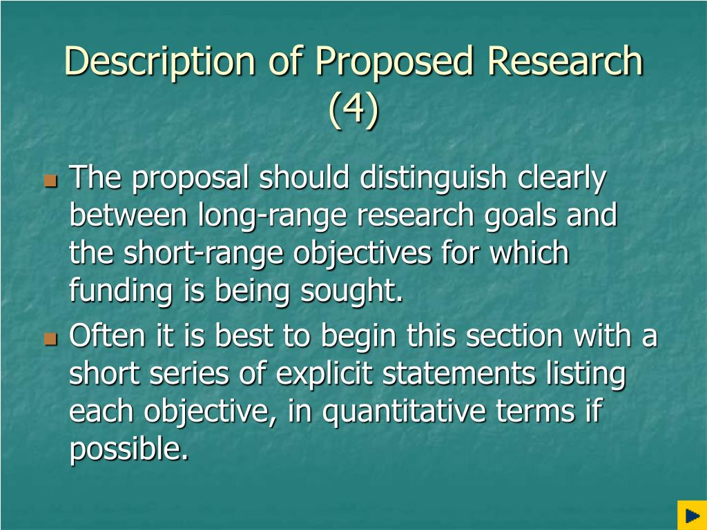 Description of Proposed Research (4)