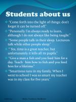 students about us