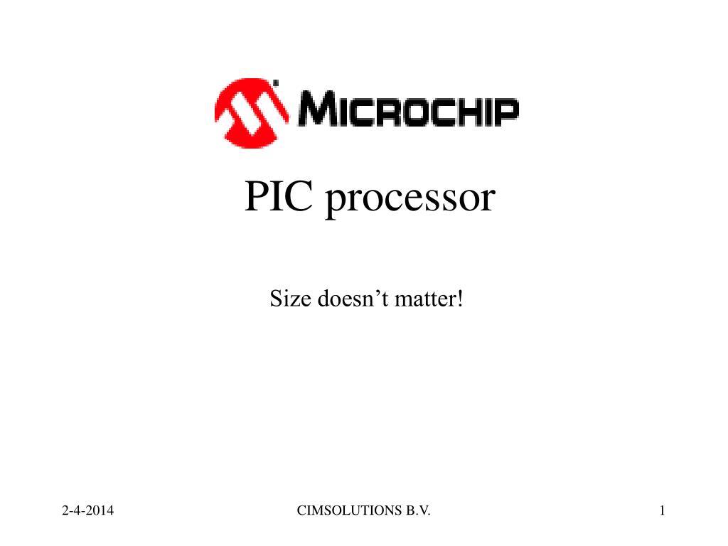 pic processor l.