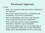 situational approach19